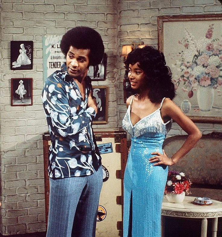 Clifton Davis & Rosanne Katon in That's my Mama | Vintage ...