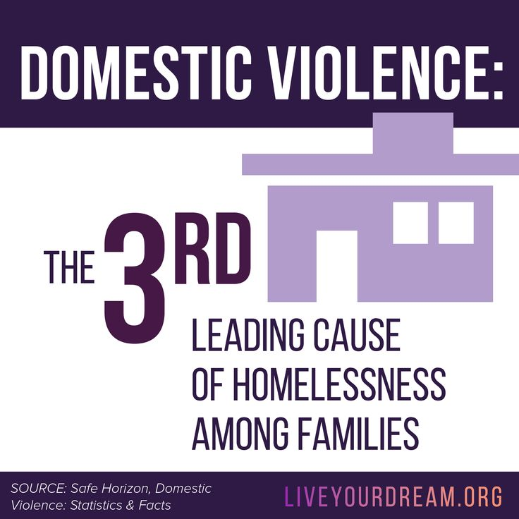 Domestic violence is the 3rd leading cause of homelessness among families. Learn how you can help survivors this DVAM at LiveYourDream.org