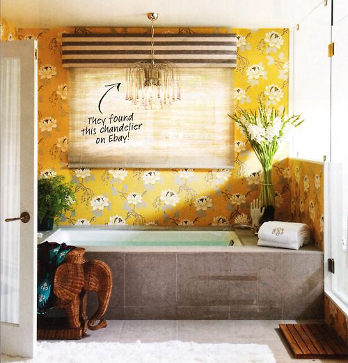 127 Best Yellow Bathroom Remodel Images On Pinterest