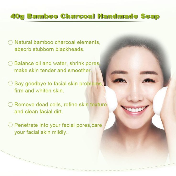 Only US$3.83, black Bamboo Charcoal Handmade Soap Skin Whitening Cleansing Soap - Tomtop.com