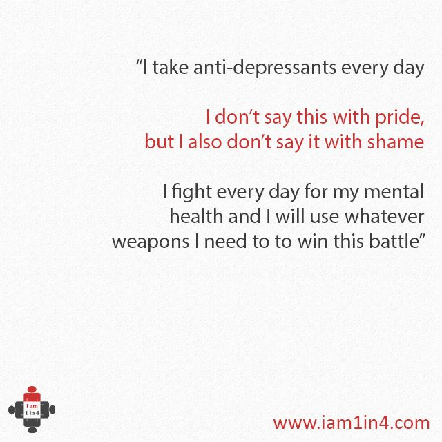 I don't say this with pride but I also don't say this with shame #antidepressants #depression #mentalhealth