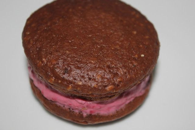 ... : Chocolate Coconut Whoopie Pies with Raspberry Cream Cheese Filling