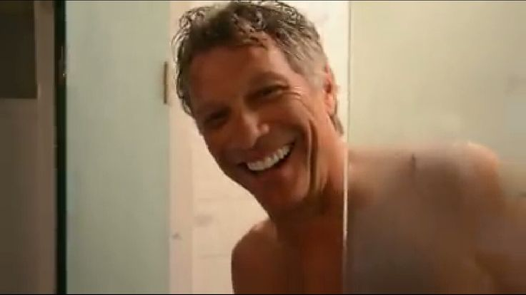 Jon Bon Jovi in the shower #ThisHouseIsNotForSale #THINFS