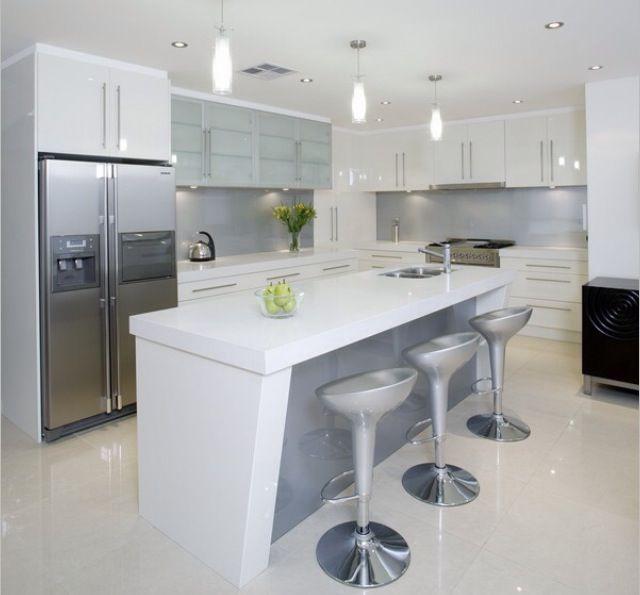 White Gloss Grey Kitchen Jaxsons Party Pinterest Grey Kitchens And Grey Kitchens