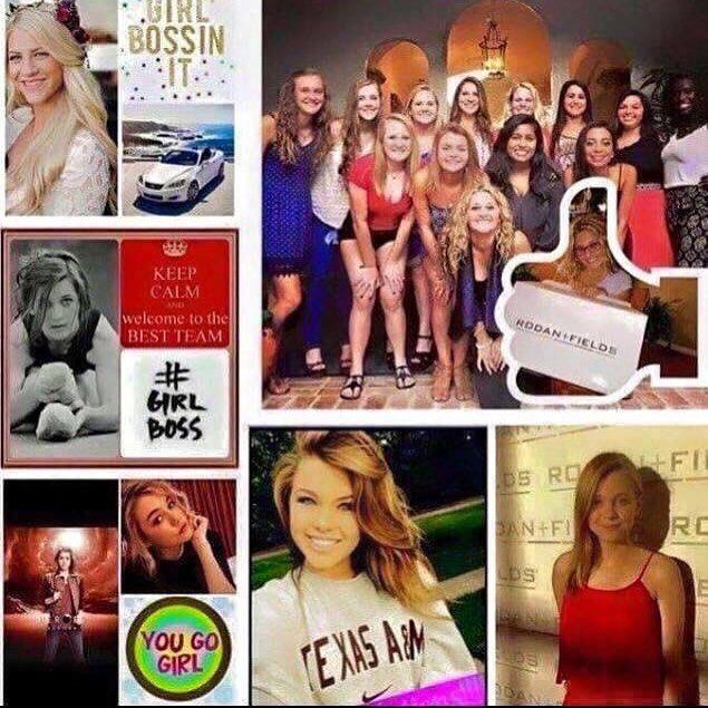 Attention: College and University Students.  Summer is out. Do you have a summer job? Will you make enough to cover your school expenses next fall?  This could be the perfect time to start your own business. All of these young women pictured are between the ages of 18 and 24. Two of them are Lexus Achievers ALL of them are earning 4 and 5 figure incomes on a monthly basis with their Rodan  Fields business. They're paying for their education helping others change their skin and building their…