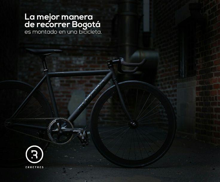 ¿Qué tal  hoy una vuelta por Chapinero a bordo de una bicicleta? #HazLaDiferencia #EnMiBicicleta  #Chapinero #Bogotá