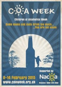 Children of Alcoholics Week is February 8-14, 2015 in the UK. Go to www.healthaware.org for link to more information.