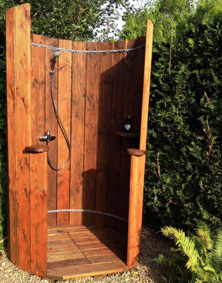 Gartendusche – Bauanleitung zum Selberbauen – 1-2-…