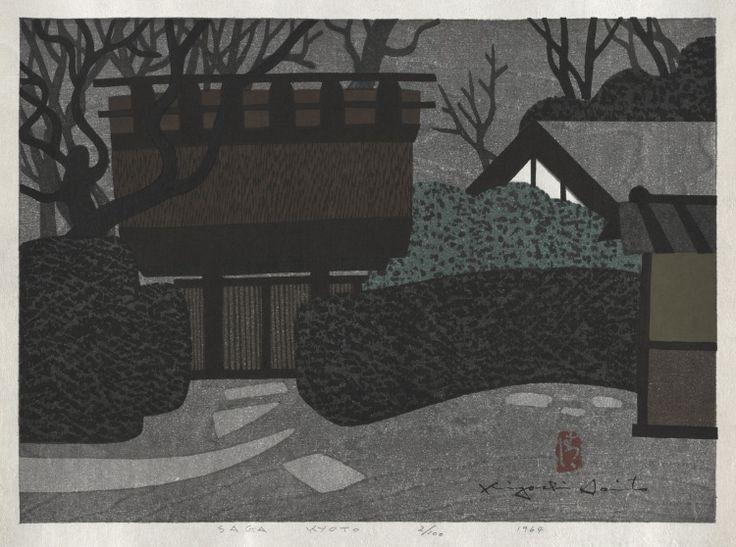 208 best images about kiyoshi saito woodcut print on