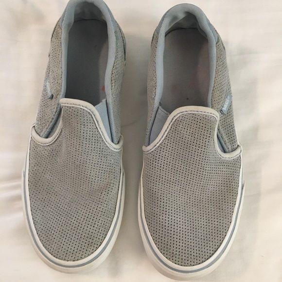 Vans Womens Asher Slip On Sneakers Size