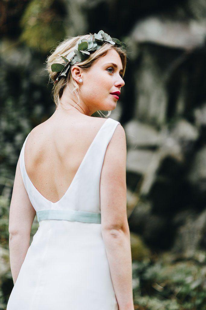 noni | Brautkleid kurz und schlicht zur Hochzeit