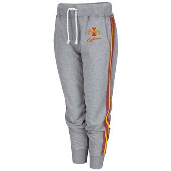 Iowa State Cyclones Colosseum Women's Dee Slim Jogger Pants - Gray