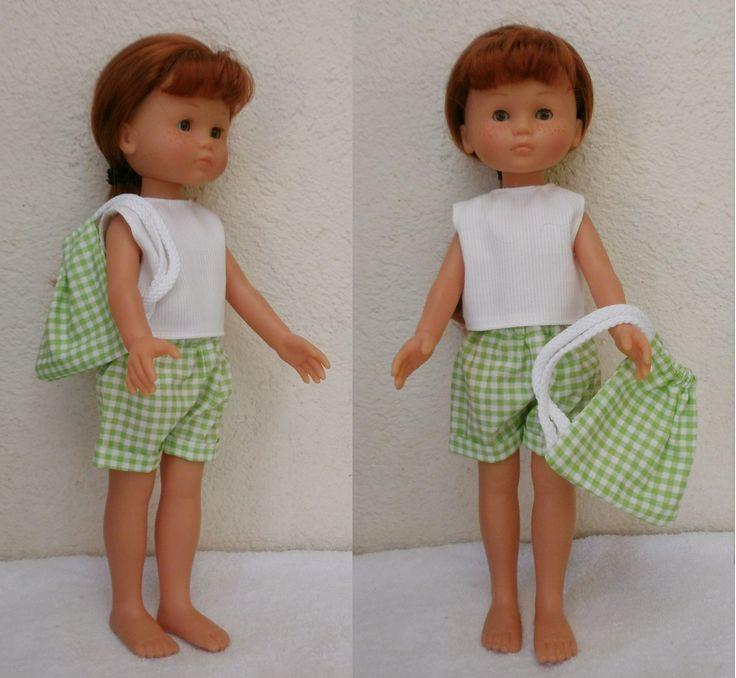 ensemble salopette pour poupée 42cm Corolle shop pour enfants Le Petit Zèbre