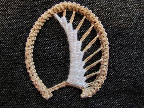 Румынское кружево . Мастер-класс. Romanian lace. Tutorial.