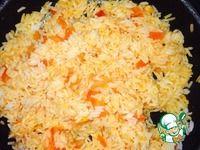Самый вкусный рис с сыром и помидорами - кулинарный рецепт