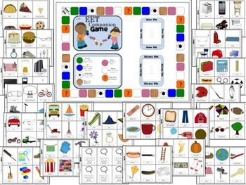 Are you using the Expanding Expression Tool with your students?  Would you like to incorporate a fun game to practice the EET skills?  Look no further than the EET Companion Board Game!  This game file includes a large game board and 120 game cards, picturing everyday items ready to describe!