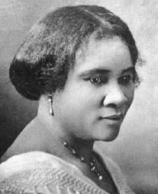 Madam C.J. Walker (December 23, 1867 – May 25, 1919), born Sarah Breedlove, was an African-American businesswoman, hair care entrepreneur and philanthropist. She made her fortune by developing and marketing a hugely successful line of beauty and hair products for black women under the company she founded, Madam C.J. Walker Manufacturing Company. (http://en.wikipedia.org/wiki/Madam_C._J._Walker) #BlackHistoryIsAmericanHistory
