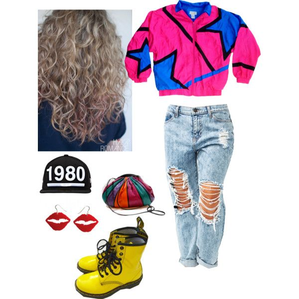 """1980's Throwback . <3"" by pizza12baby on Polyvore"