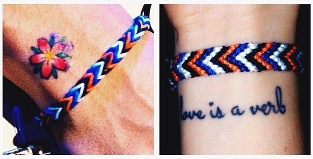 John Mayer Flower Tattoo