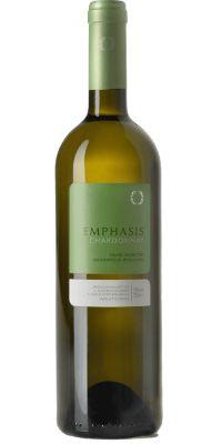 Emphasis Chardonnay, Λευκός ξηρός 2012 (Chardonnay 100%), Κτήμα Παυλίδη, Δράμα.