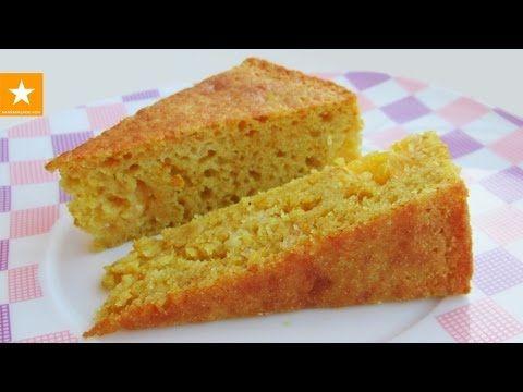 АПЕЛЬСИНОВЫЙ МАННИК - обалденно простой пирог от Мармеладной Лисицы. Рецепт без яиц - YouTube
