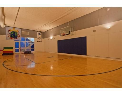 12 best images about enclosed basketball court seperate for Indoor basketball court installation