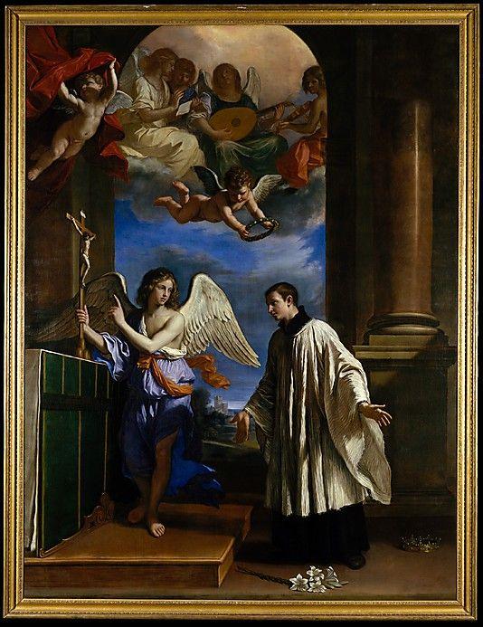 Guercino (Giovanni Francesco Barbieri)  - The Vocation of Saint Aloysius (Luigi) Gonzaga (c.1650):