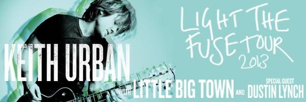Keith Urban: New 2013 Tour Dates and Ticket Information!