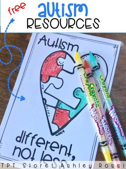 FREE resources for April and Autism Awareness and Autism Acceptance Day.
