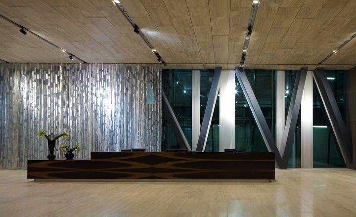 New Court, Rothschild London HQ, by OMA: Main Reception