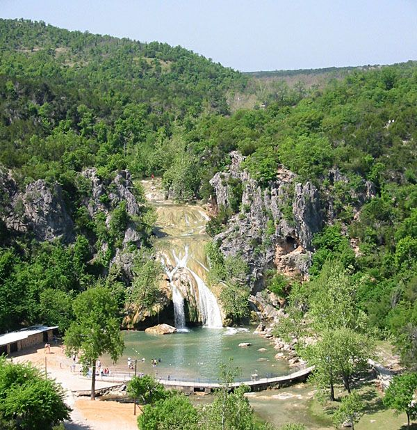 Turner Falls.  Located in Davis, Oklahoma.  Loved camping, swimming and being lazy here.