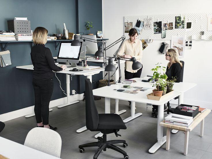 25 beste idee n over wit bureau kantoor alleen op for Kantoor interieur inspiratie