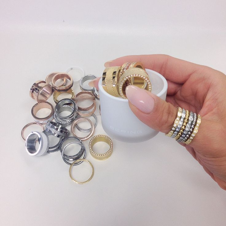 Rings are the girls best friend; BERING jewellery; Arctic Symphony Collection; Twist & Change System
