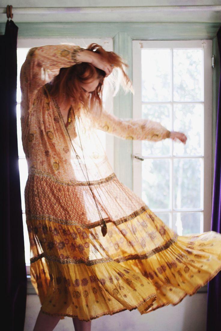 Vintage Indian Dress // Tavin Boutique