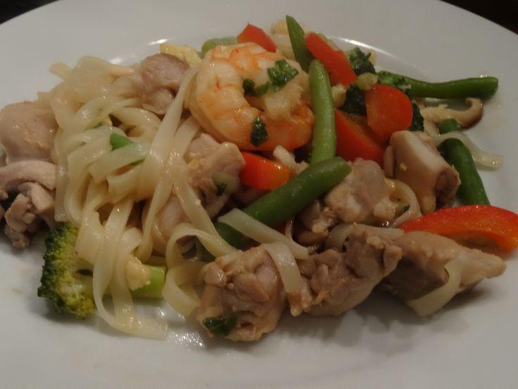 Heerlijk gerecht uit Thailand. Makkelijk en snel.