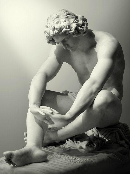 Le Désespoir by Jean-Joseph Perraud, 1869, Musée d'Orsay #marblesculpture #marble #sculpture