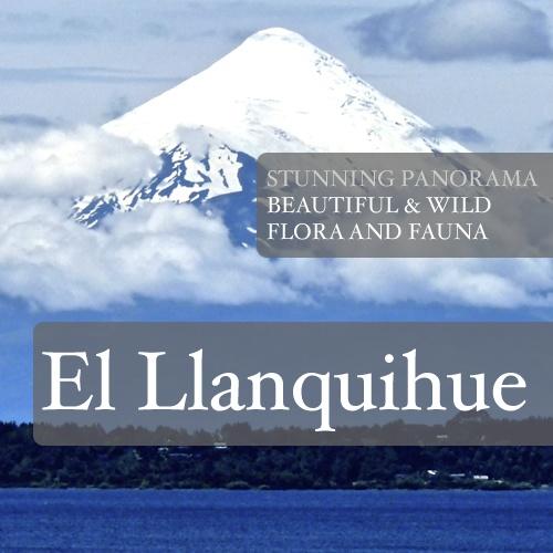 #llanquihue #lagollanquihue #patagonia #chile #puertovaras #beach #panorama #volcano #osorno