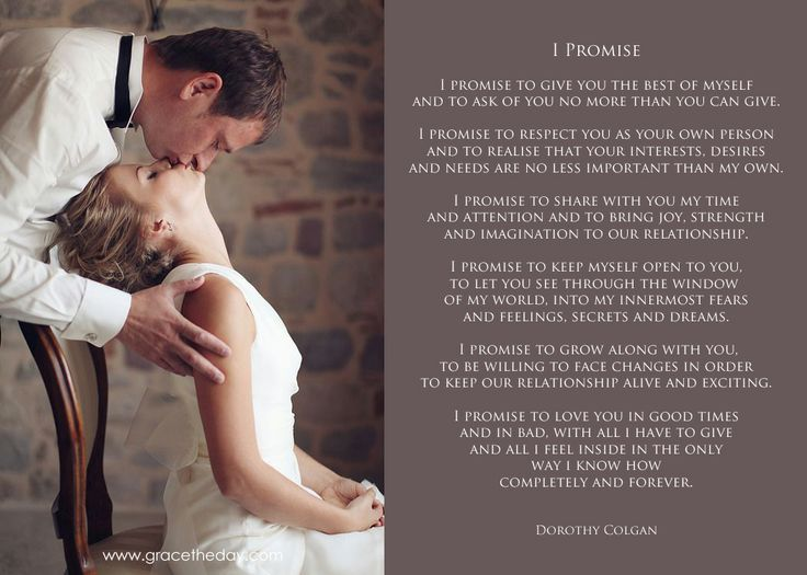 I Promise Www Gracetheday