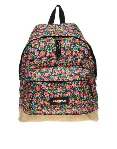 Floral Eastpak Backpack, cute!
