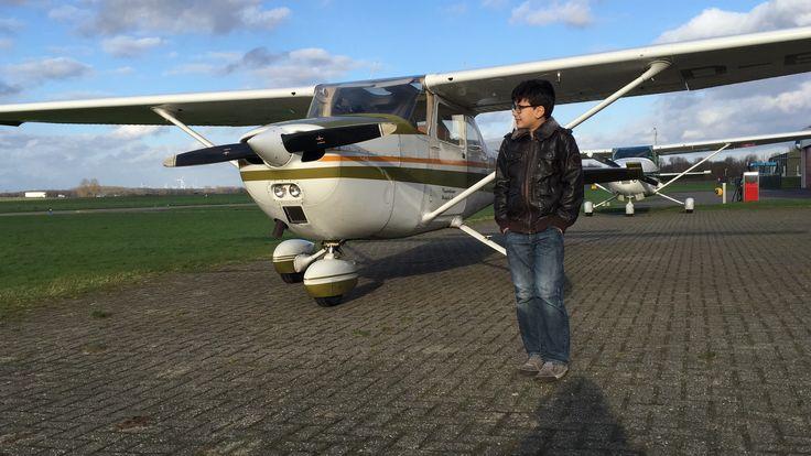 Vliegen met de cessna Hawk 2016