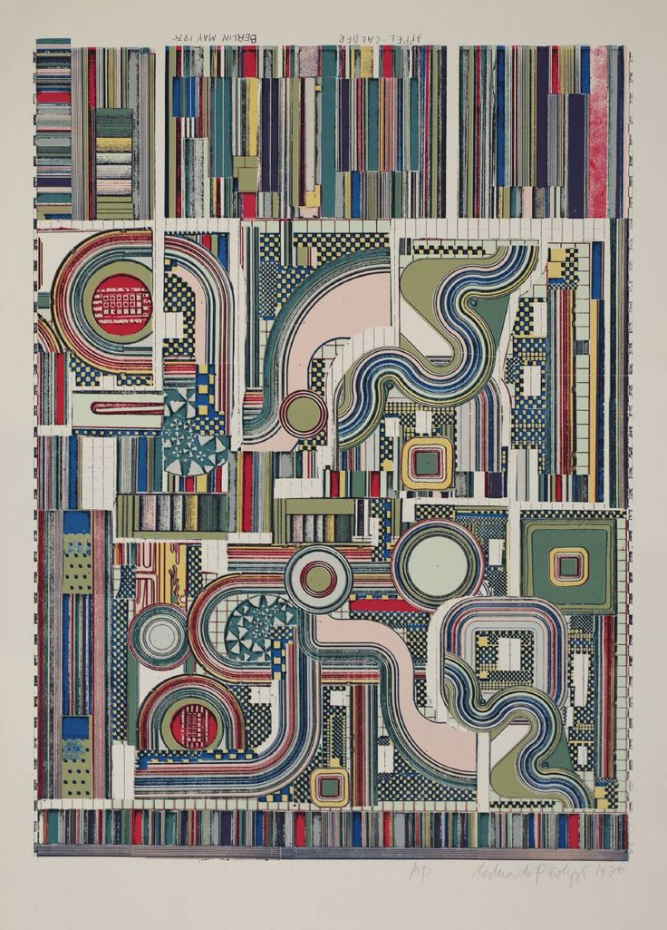 Sir Eduardo Paolozzi 'Appel-Calder', 1975 © The Eduardo Paolozzi Foundation