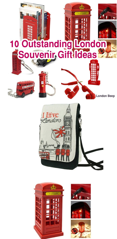 Top 10 Cheap & Outstanding London Souvenir Gift Ideas  #London #giftideas #londoner #uk