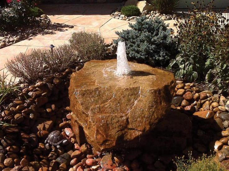 17 Best Ideas About Rock Fountain On Pinterest Diy Water
