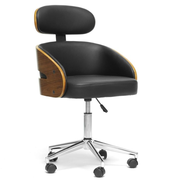 studio office furniture. baxton studio kneppe black modern office chair overstock shopping great deals on chairs furniture