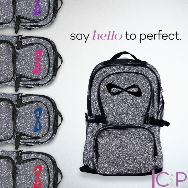 The Nfinity Sparkle Backpack is simply amazing. Comes in multiple colors to match your style, friends, or your team colors. Make sure you out sparkle the competition with this incredible cheer bag. Shop for everything you need for this Back to school season
