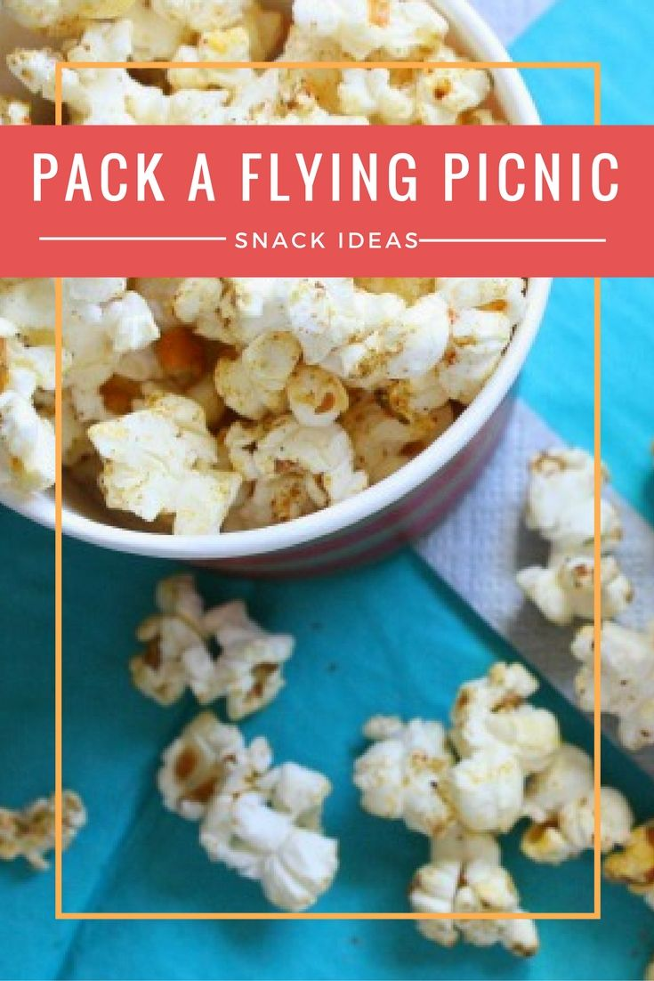 Here are 25 snack ideas to make anyone in your family happy on your next flight. Create your own picnic in the air!