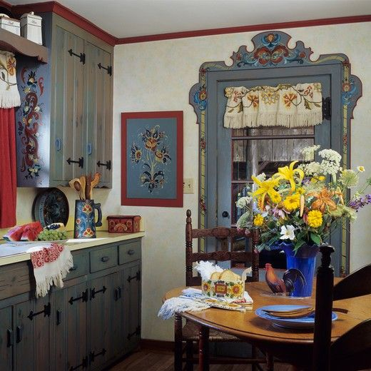402 best images about norwegian rosemaling on pinterest - Romanian wooden houses when nature and tradition come together ...