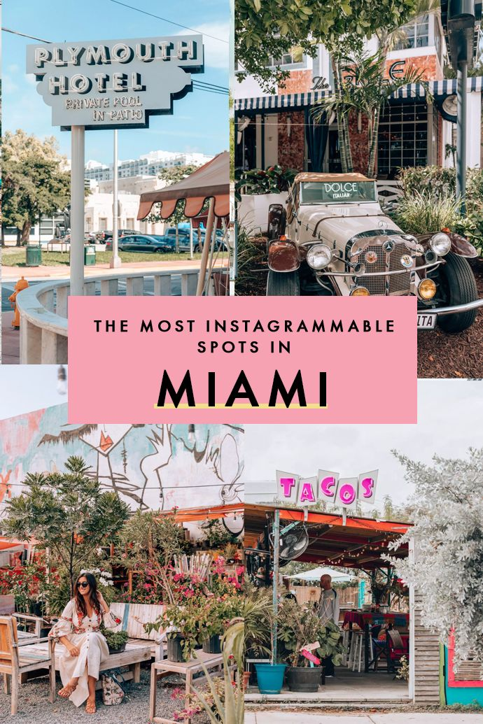 The Greatest Instagram Spots in Miami That Your Feed Will Love