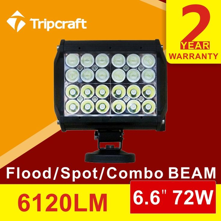 best ideas about truck led light bar jeep light high quality 4quad 72w led light bar spot daytime running light truck boat car suv 4x4