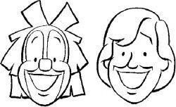 Free Bassie & Adriaan coloring pages